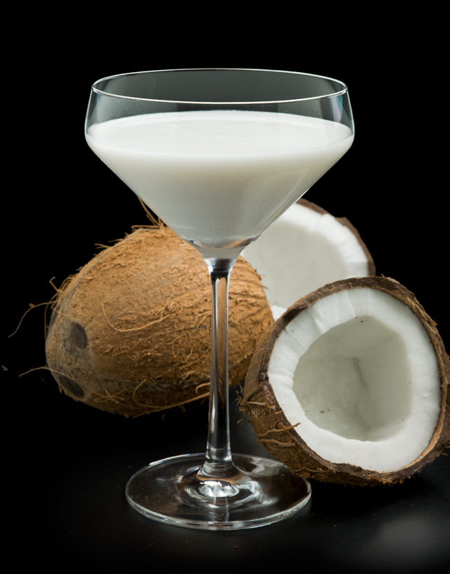 Coconut-FreshFruitMartinis