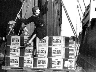 The first legal gin shipmen left Philadelphia for St Francisco Oct 1933 - The Martini: An Illustrated History of an American Classic