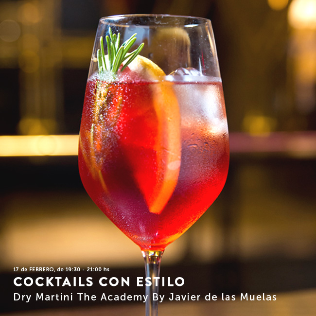Cocktails con estilo en Dry Martini The Academy