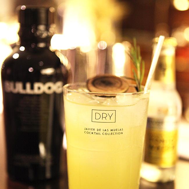 Gin&Tonic Bulldog Gin at Dry Martini London