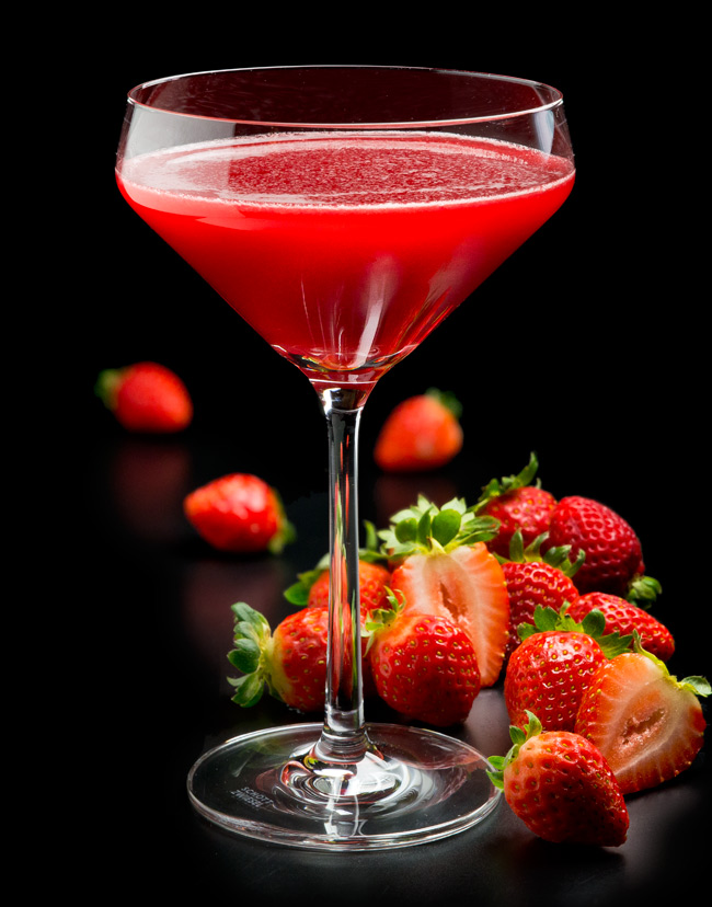 Strawberry-FreshFruitMartinis