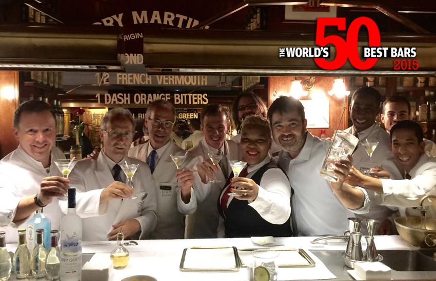 Dry Martini Barcelona entre los 50 mejores bares del mundo 01