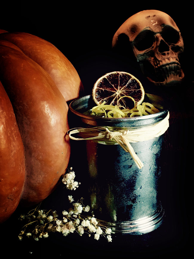 Halloween Cocktail 2016 Dry Martini By Javier de las Muelas